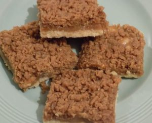 Walnut & Coffee Squares