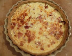 Bacon & Cheese Quiche