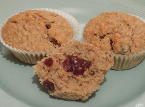 Cranberry & Oat Muffins