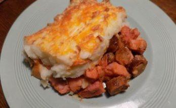 Bacon Sausage & Potato Pie Recipe