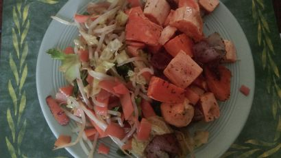 Sweet Potato and Stir Fry