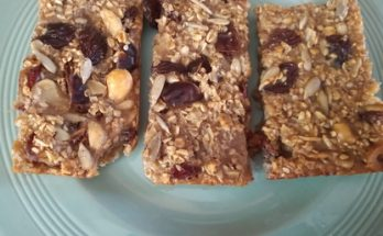 Porridge Granola Bars